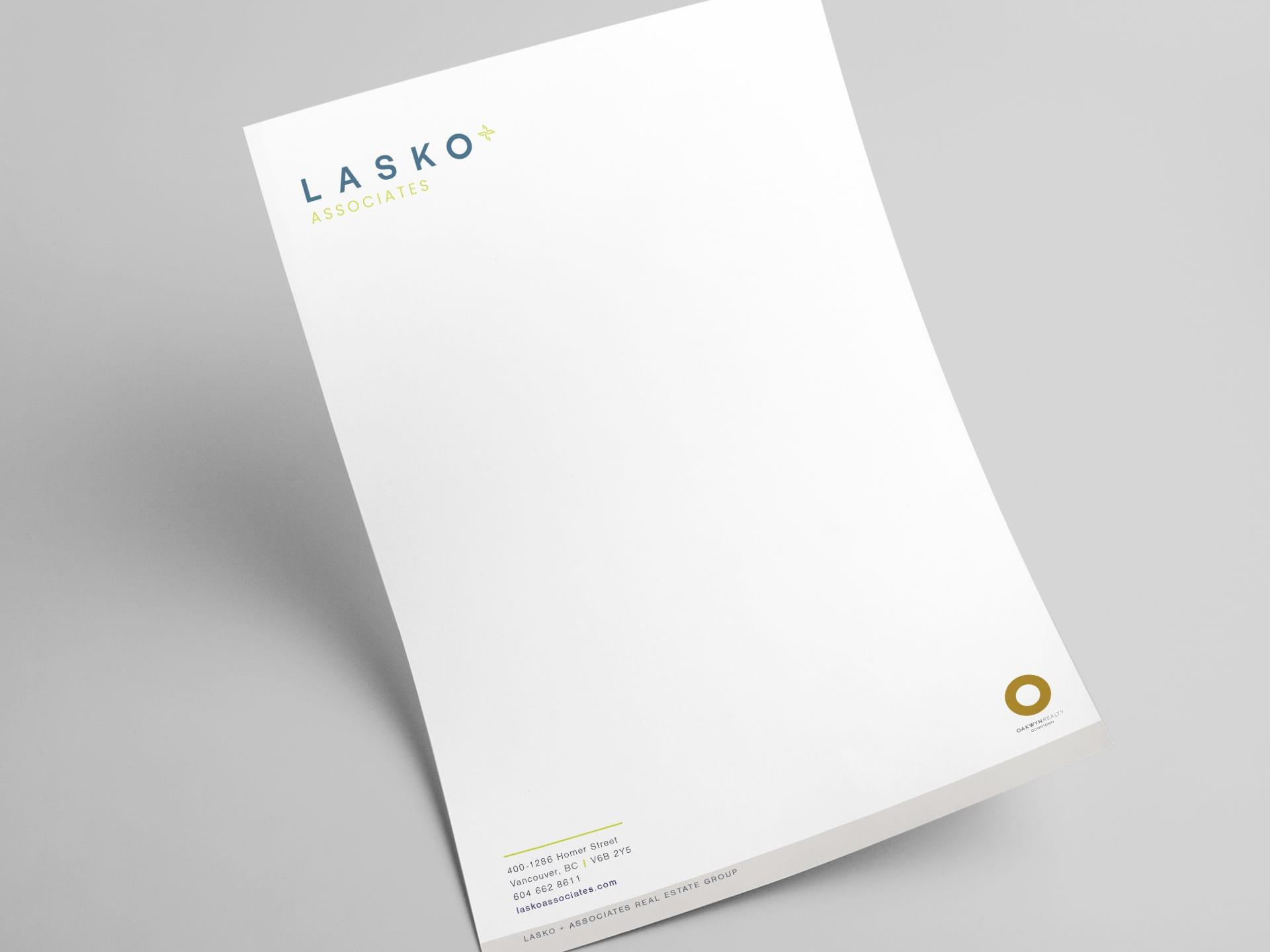 Y5 Creative Case Studies 2019 Letterhead Lasko And Associates Real Estate Group
