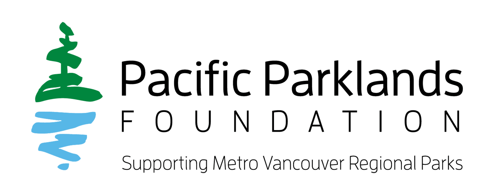 Y5 Creative Case Studies Logo Pacific Parklands Foundation